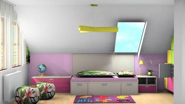 Řešení dětského pokoje