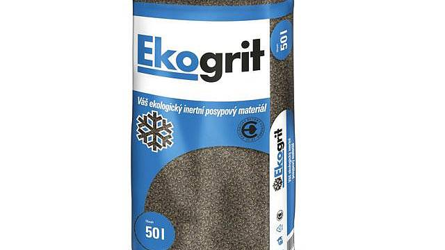 Ekologicky šetrný posypový materiál Ekogrit