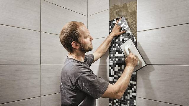 Mozaika v koupelně