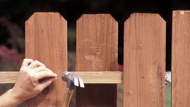 Dřevěný plot 4