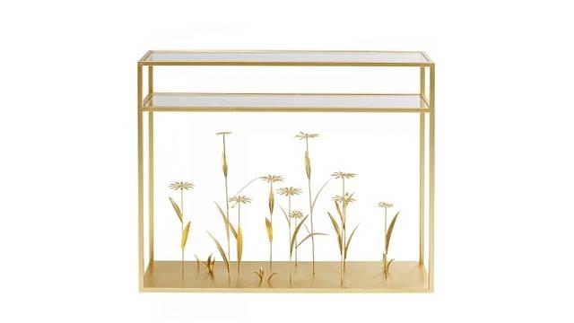 Stoprocentní přitažlivost Flower Meadow, lakovaná ocel a sklo, cena 10 290 Kč