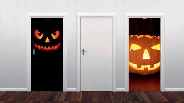 3D nálepky pro Halloween
