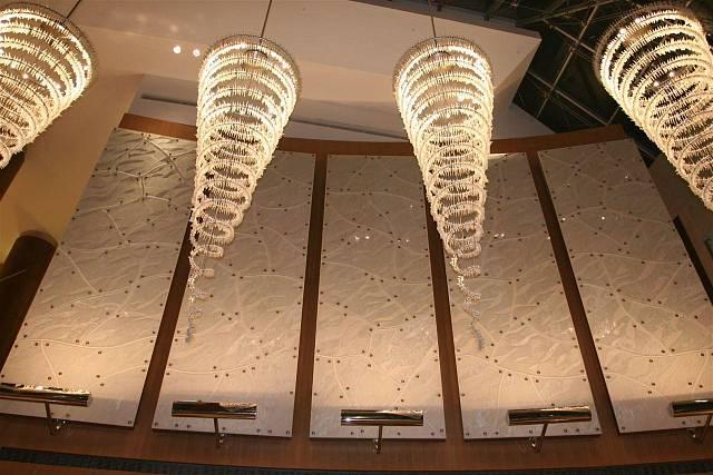 Osvětlení hotelů - Preciosa