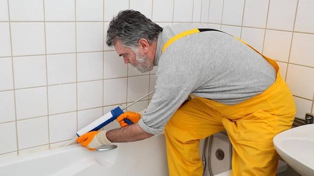 Opravy v koupelně