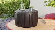 Box Circa Wood, konferenční stolek s úložným prostorem / JENA nábytek