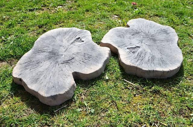Betonová imitace dřeva Nášlap velký NO6 /  RYHOS s.r.o.
