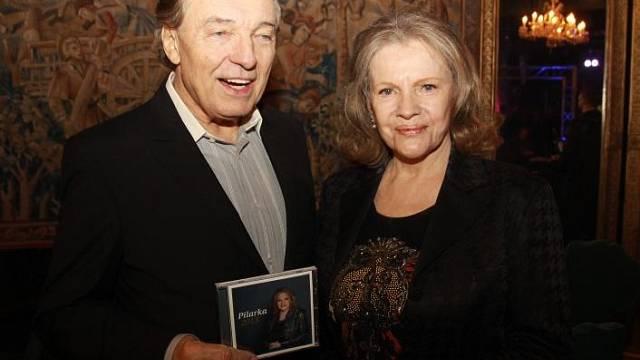 S Karem Gottem na křtu CD. Foto: Fr. Jirásek