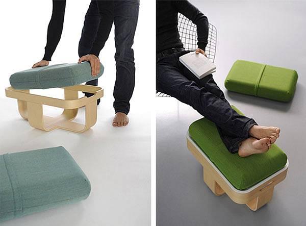 Židle-stolek-polštáře 4