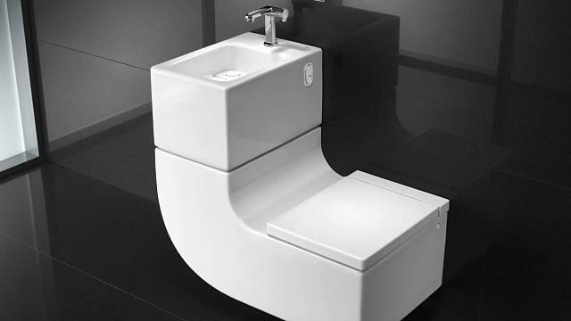 Záchody s umyvátky
