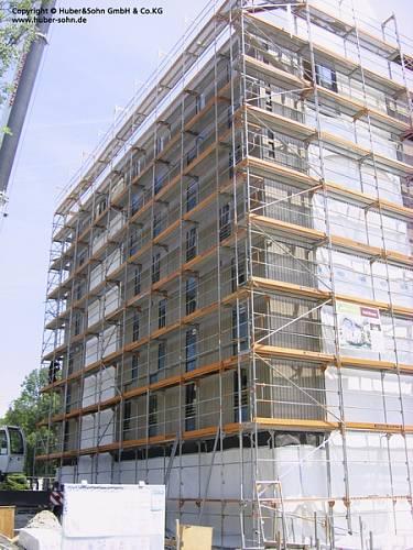 Stav výstavby v pondělí 30. května 2011