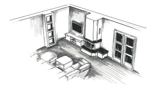 Obývací hala