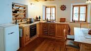 Kuchyně na chatě
