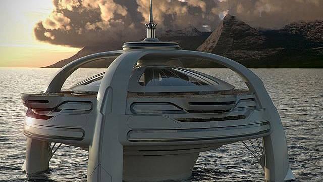 Plovoucí ostrov - projekt Utopie