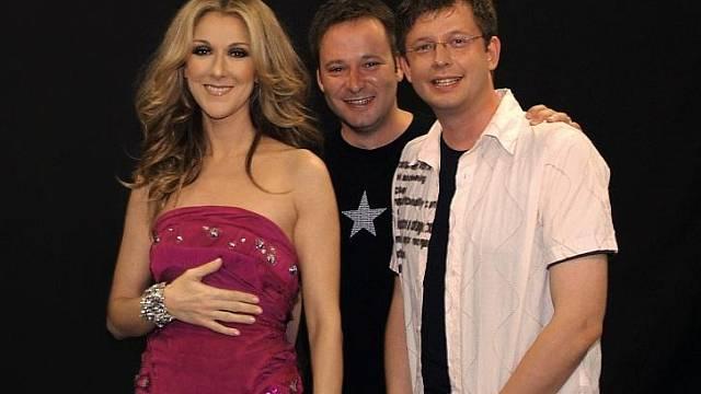 Aleš s Michaelm si před 3 lety vydražili osobní setkání s jejich oblíbenou hvězdou Celine Dion...