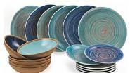 Jídelní souprava Terra Mar, materiál: keramika / www.vivre.cz