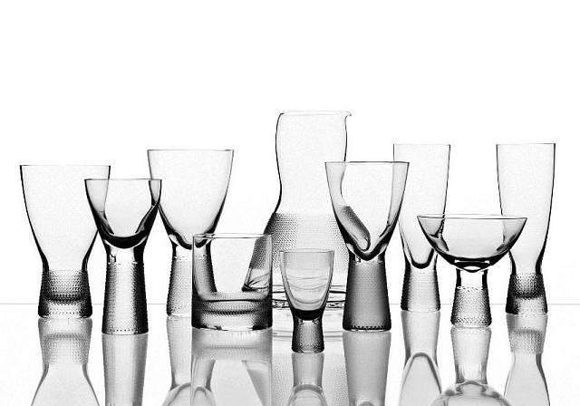 Nápojové sklo od Františka Víznera