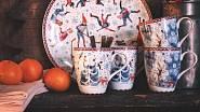 Kolekce Zimní radovánky od Renaty Fučíkové pro Rosenthal / Hutschenreuther