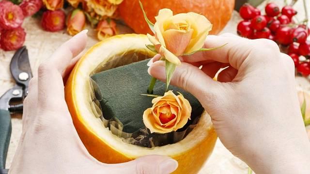 Podzimní dekorace, kterou zvládne vyrobit i začátečník