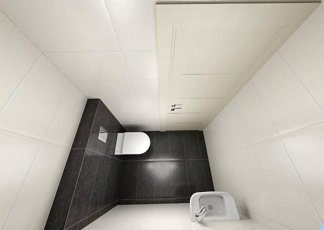Záchod v patře
