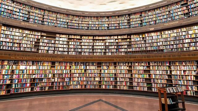 Knihovna ve Stockholmu