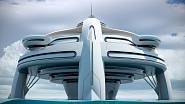 Projekt Utopia představuje plovoucí ostrov