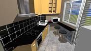 Atypická kuchyně č.3