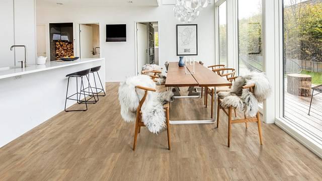Minerální podlahy Kährs SPC, kolekce Wood Design, dekor Taiga.