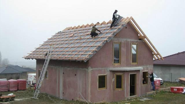 Hotový dům k dokončení