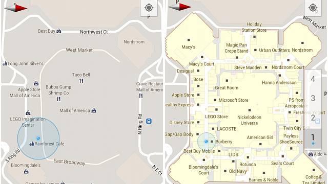 Google Maps Indoor 1
