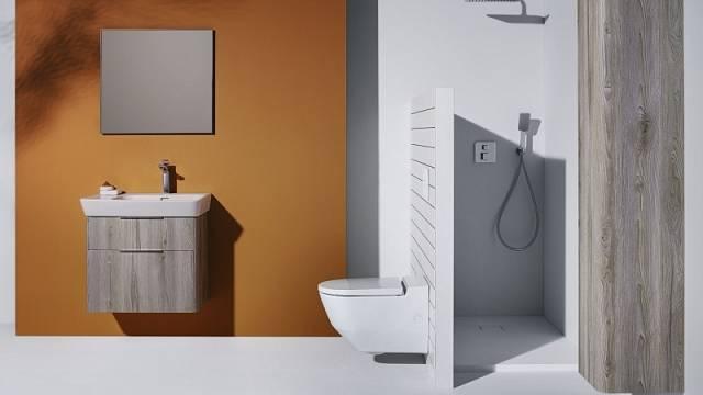 Sprchová toaleta Cleanet Navia představuje dva v jednom - klozet i bidet, cena od 92 427 Kč.