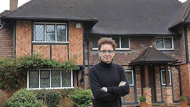 Dům britského muzikanta Bruce Foxtona