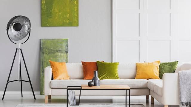 Podzimní barvy v interieru