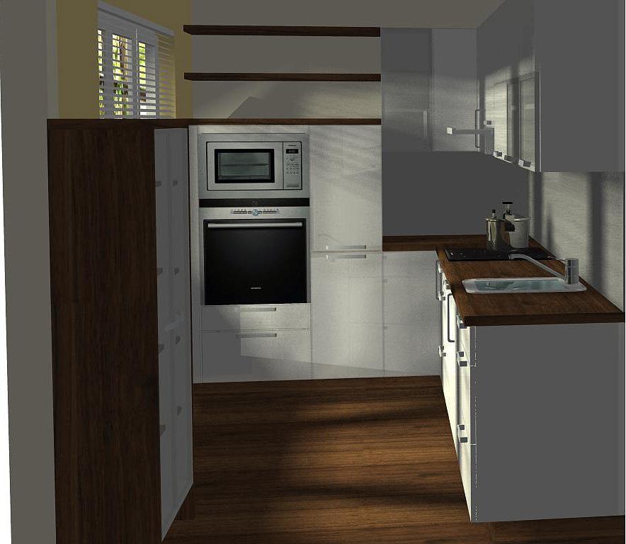 d1fcdb767a24 Paneláková koupelna a kuchyně ve 3D návrhu