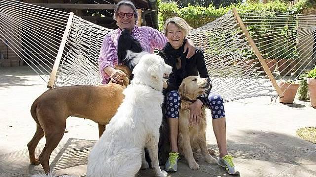 Olivier Toscani a jeho rodina