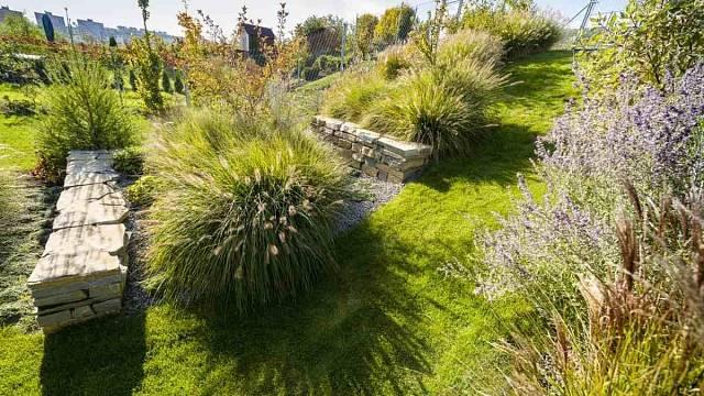Dlouhá a úzká zahrada