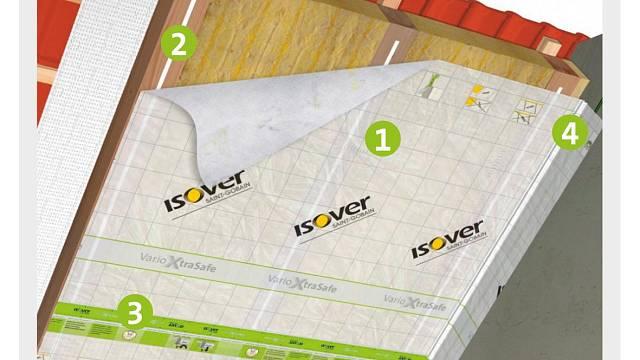 Doporučené použití produktů řady Isover VARIO®