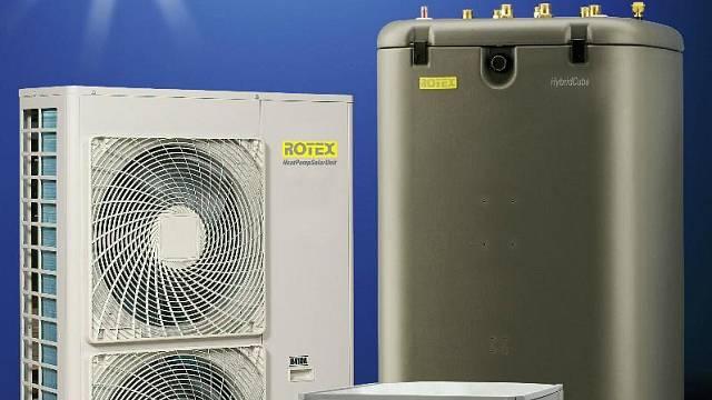 Tepelné čerpadlo vzduch-voda Rotex HPSU Hitemp