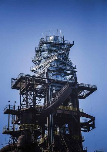 Bolt Tower v Ostravě – nástavba vysoké pece č. 1