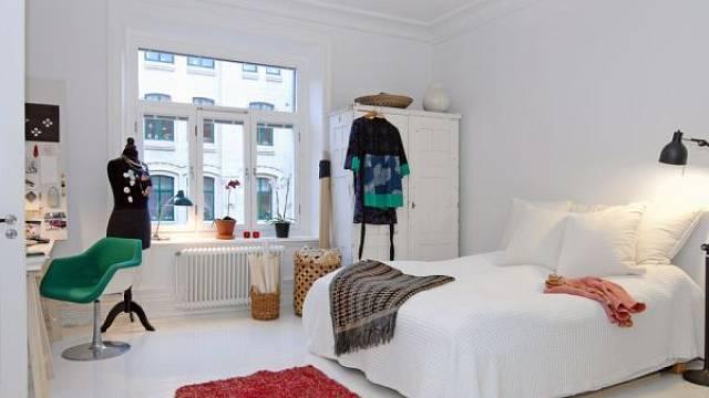 Skandinávská ložnice 4
