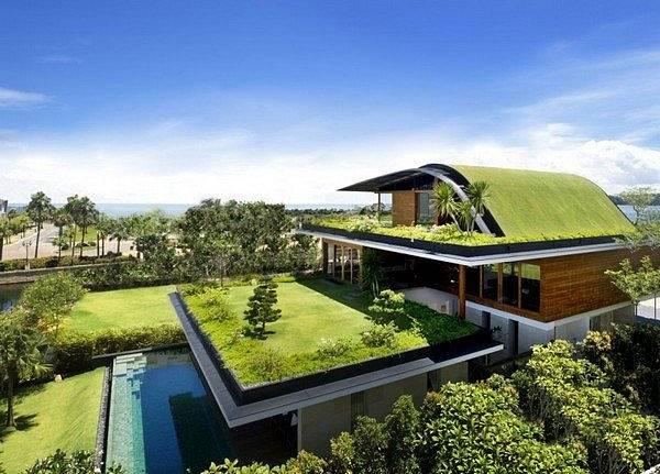 Domy porostlé trávou 10