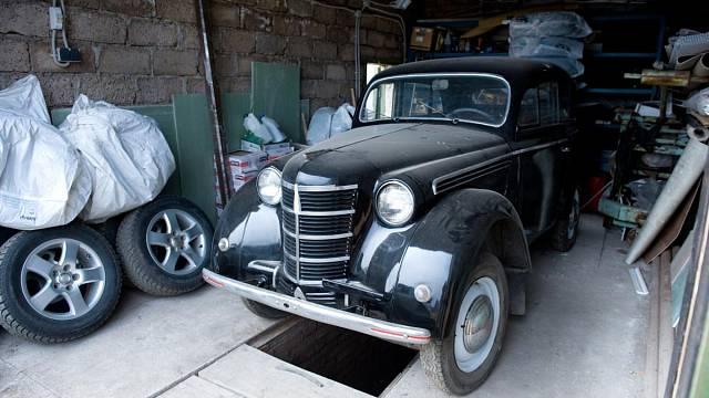 Vyloupená garáž