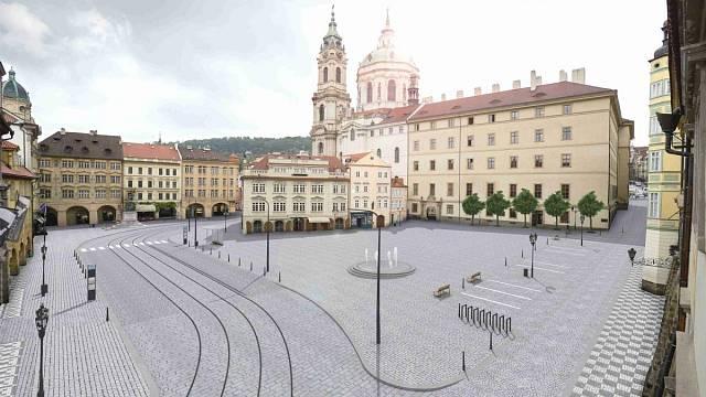 Malostranské náměstí - architektonická soutěž
