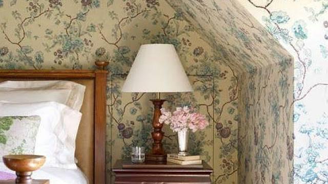 Tapety v ložnici