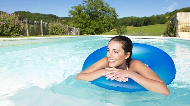 Vyhřívání vody v bazénu