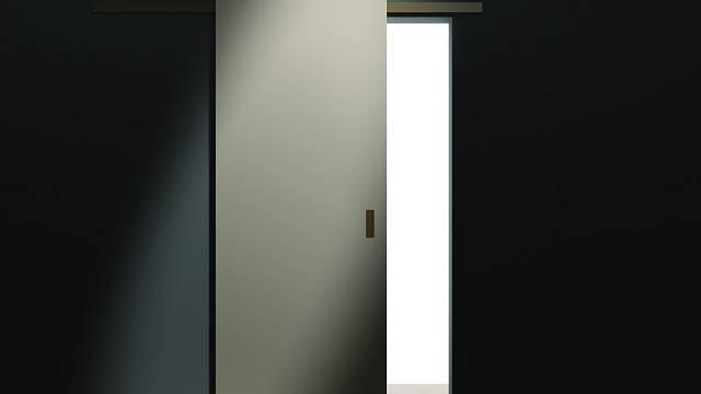 Posuvné dveře na stěnu 1