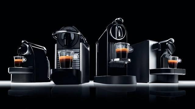 Kapslové kávovary Nespresso