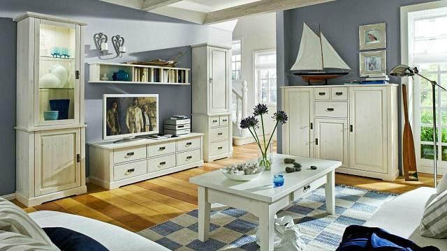 Francouzský interiér, obývací pokoj