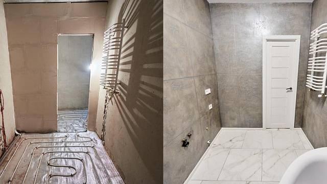 Podlahové vytápění koupeny