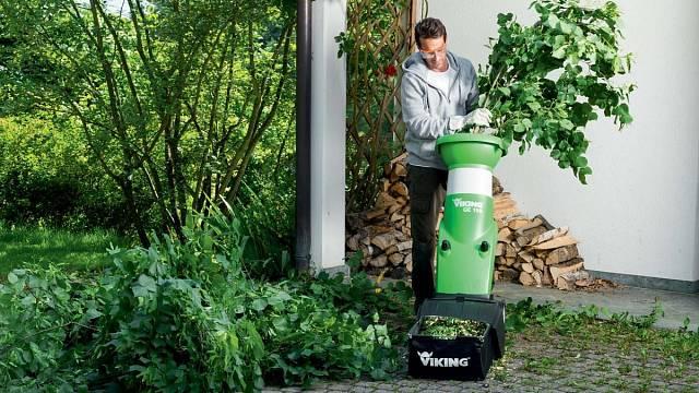 Drtiče větví vyrábí různé firmy, zde například značka Viking.