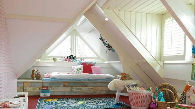 Marmoleum v dětském pokoji